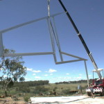 Winery Crane - first day